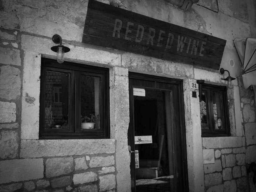 My fav - Red Red Wine bar - Hvar Island